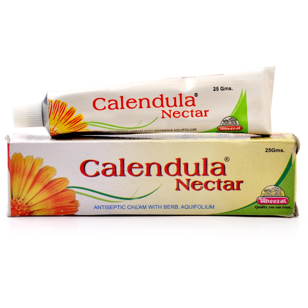 Wheezal Calendula Nectar Antiseptic Cream 25g