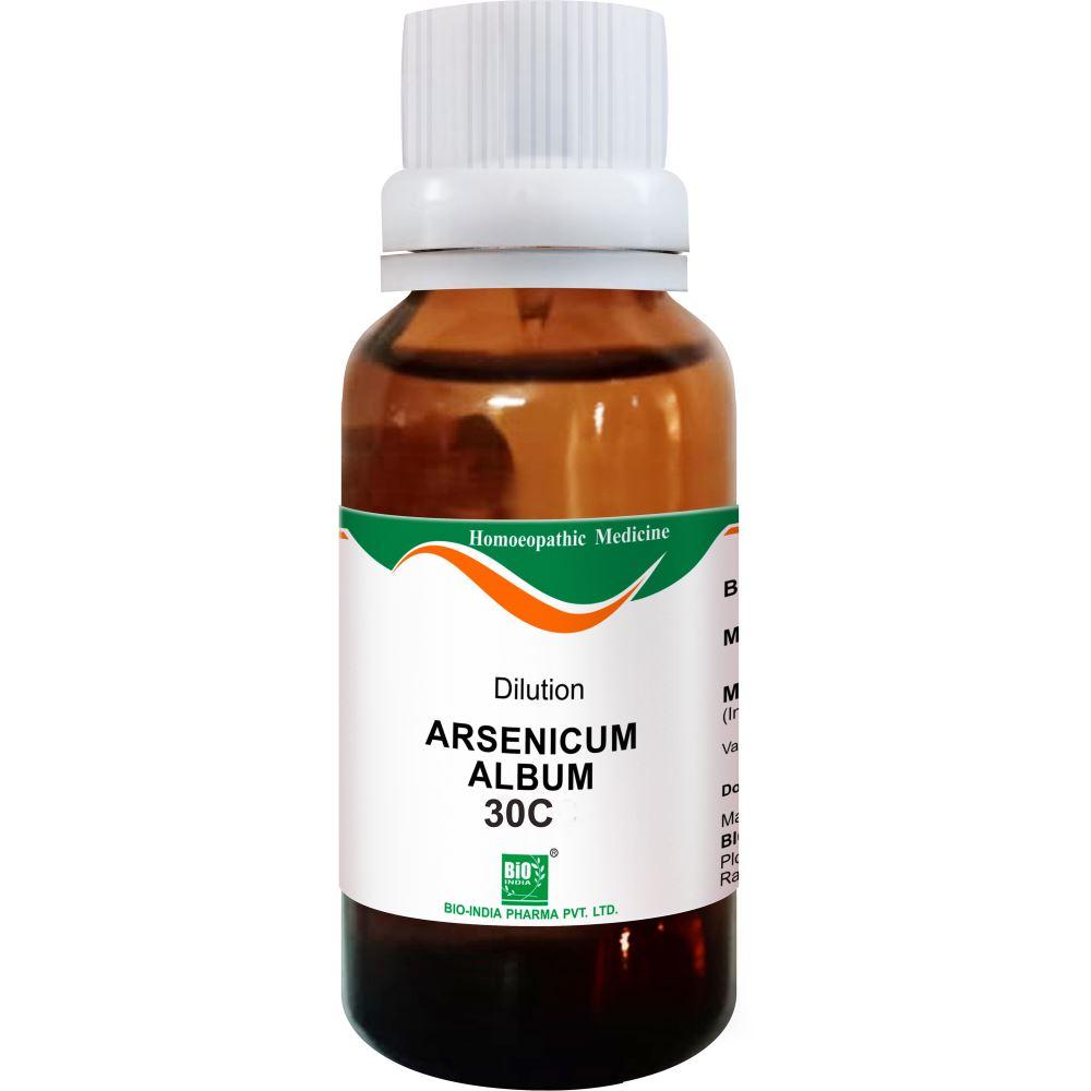 Bio India Arsenic Album 30 CH 30ml