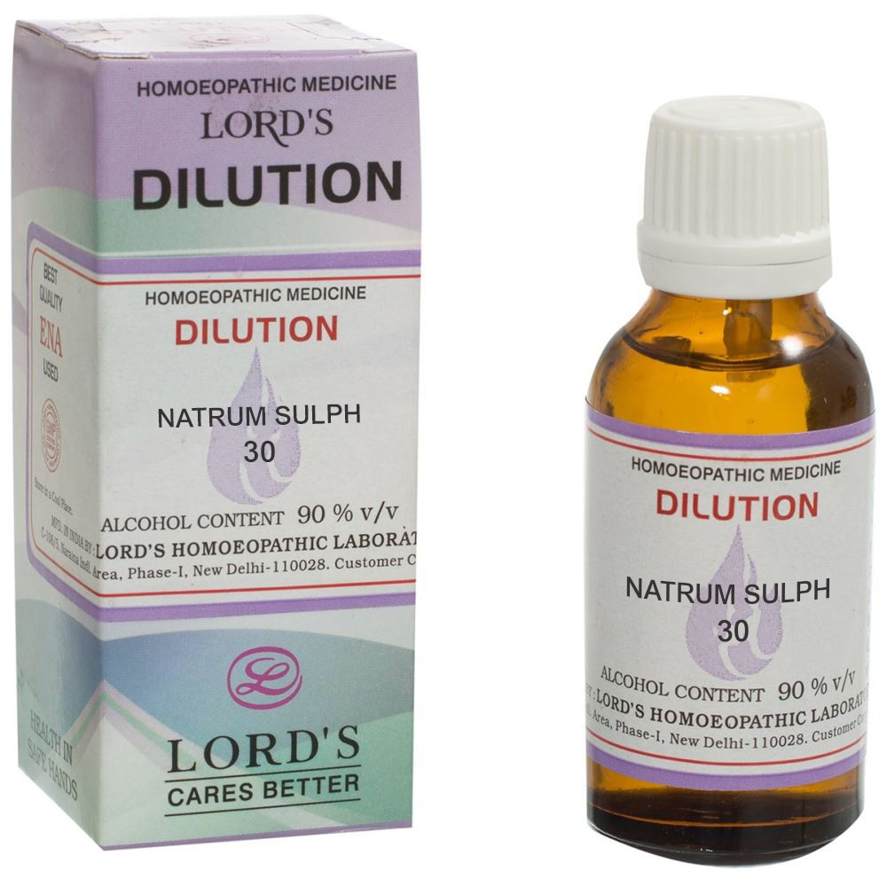 Lords Natrum Sulph 30 CH 30ml