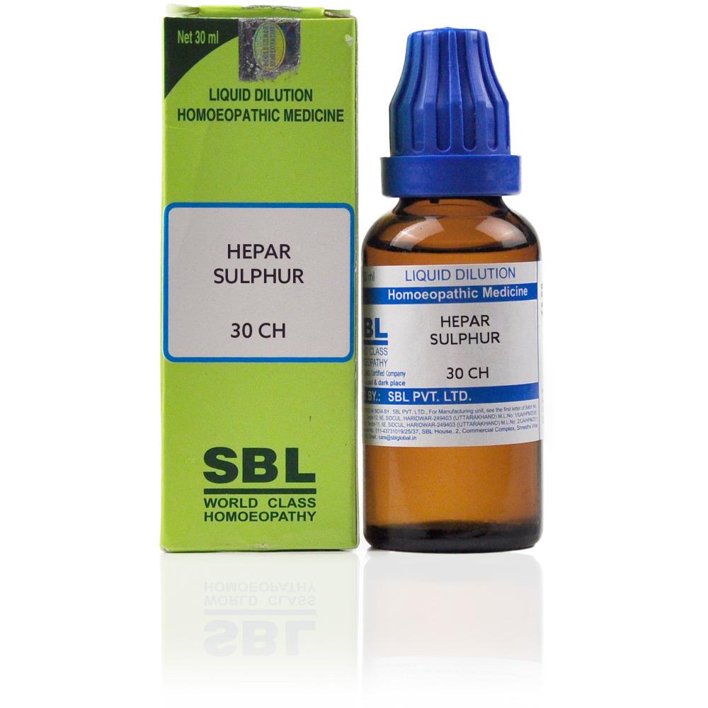 SBL Hepar Sulphur 30 CH 30ml