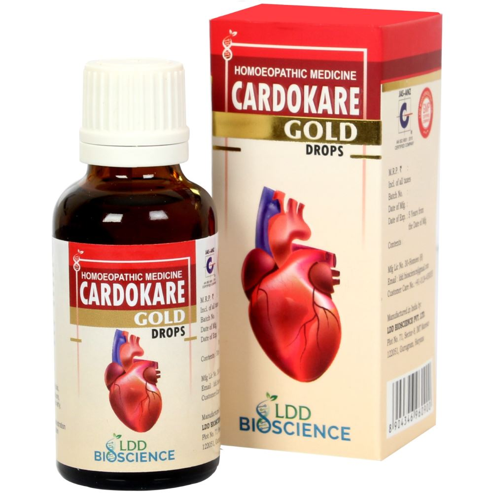 LDD Bioscience Cardokare Gold Drops 30ml