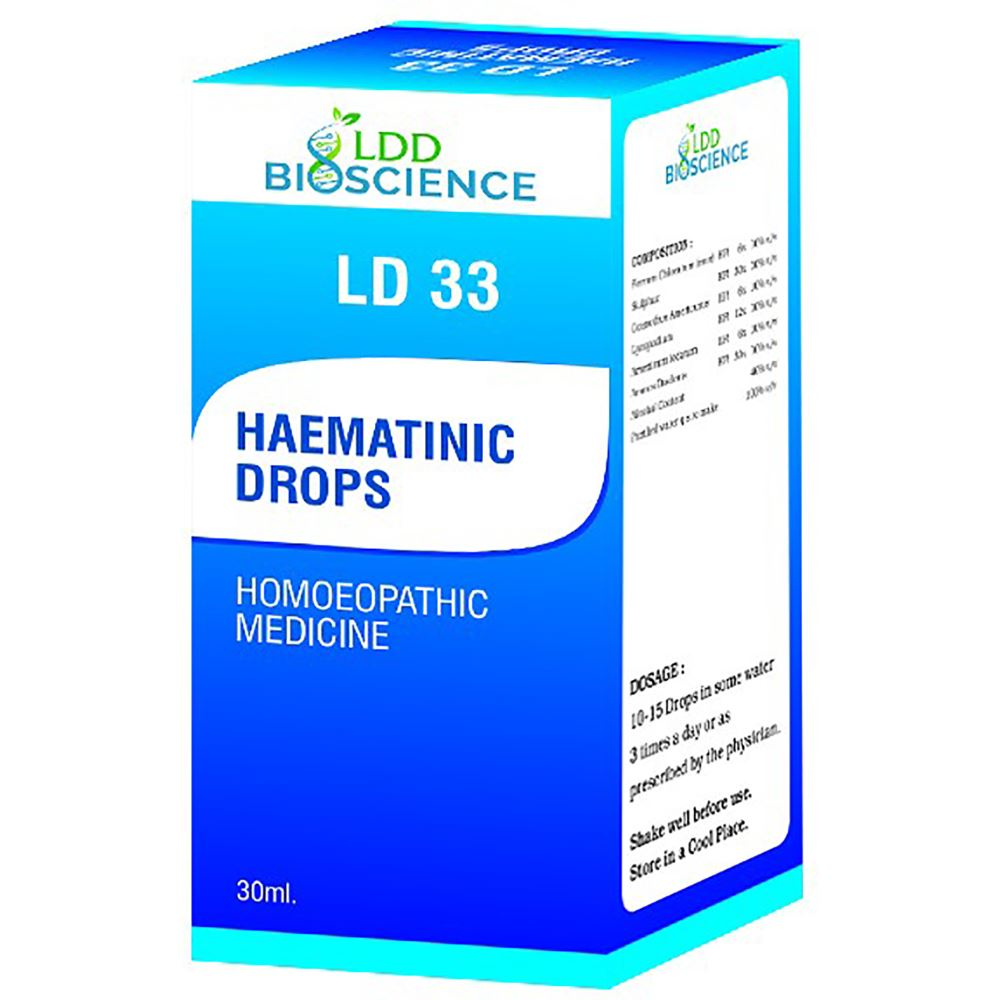 LDD Bioscience Ld 33 Haematinic Drops 30ml
