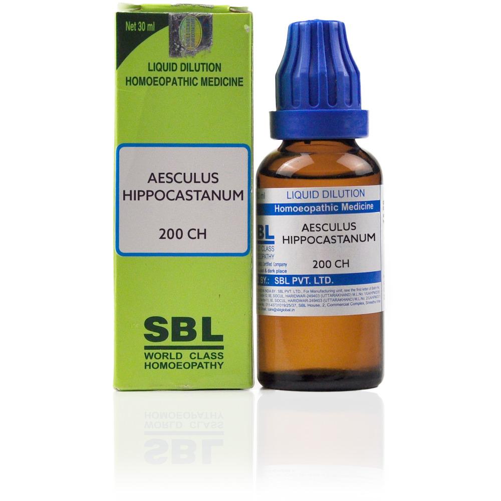 SBL Aesculus Hippocastanum 200 CH 30ml
