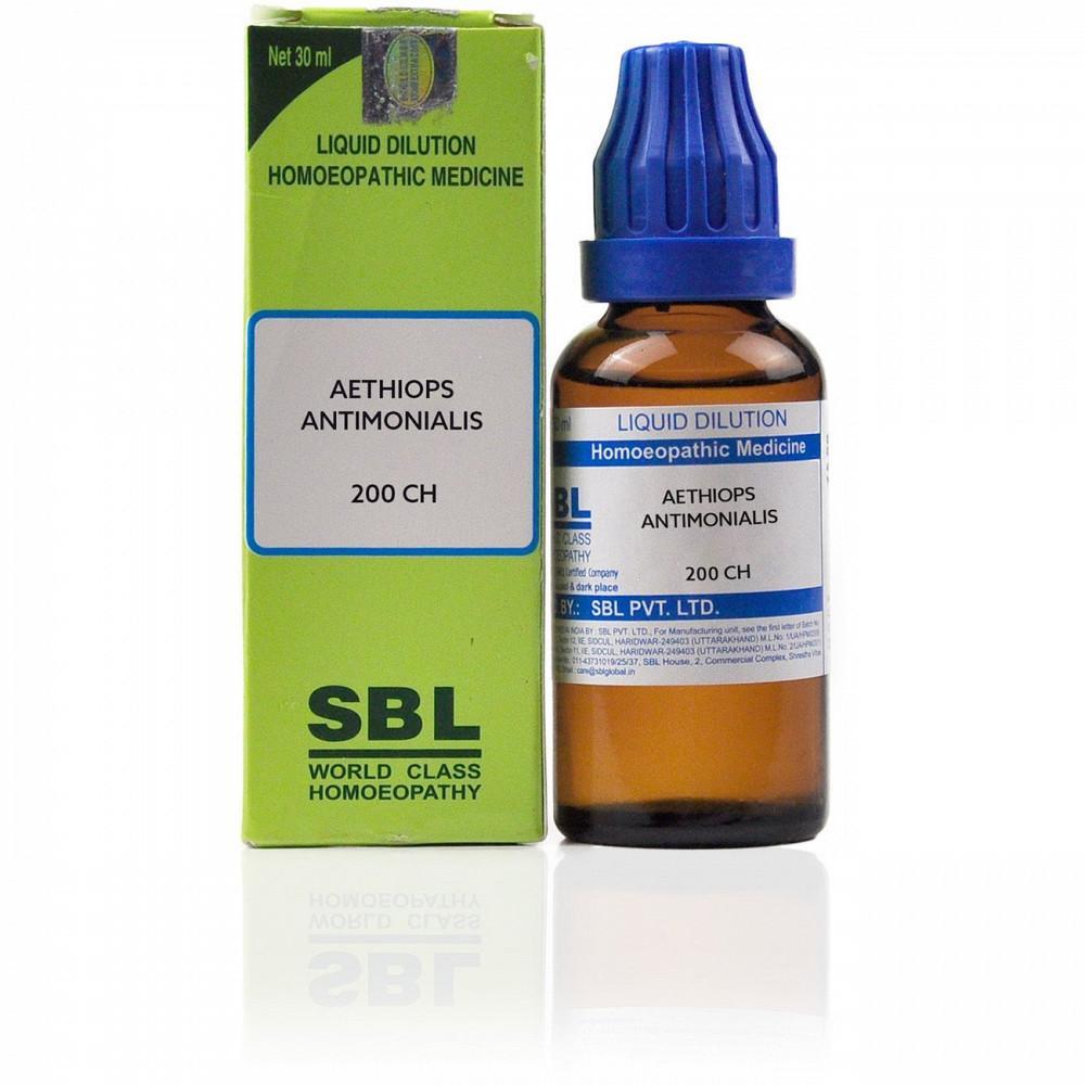 SBL Aethiops Antimonialis 200 CH 30ml