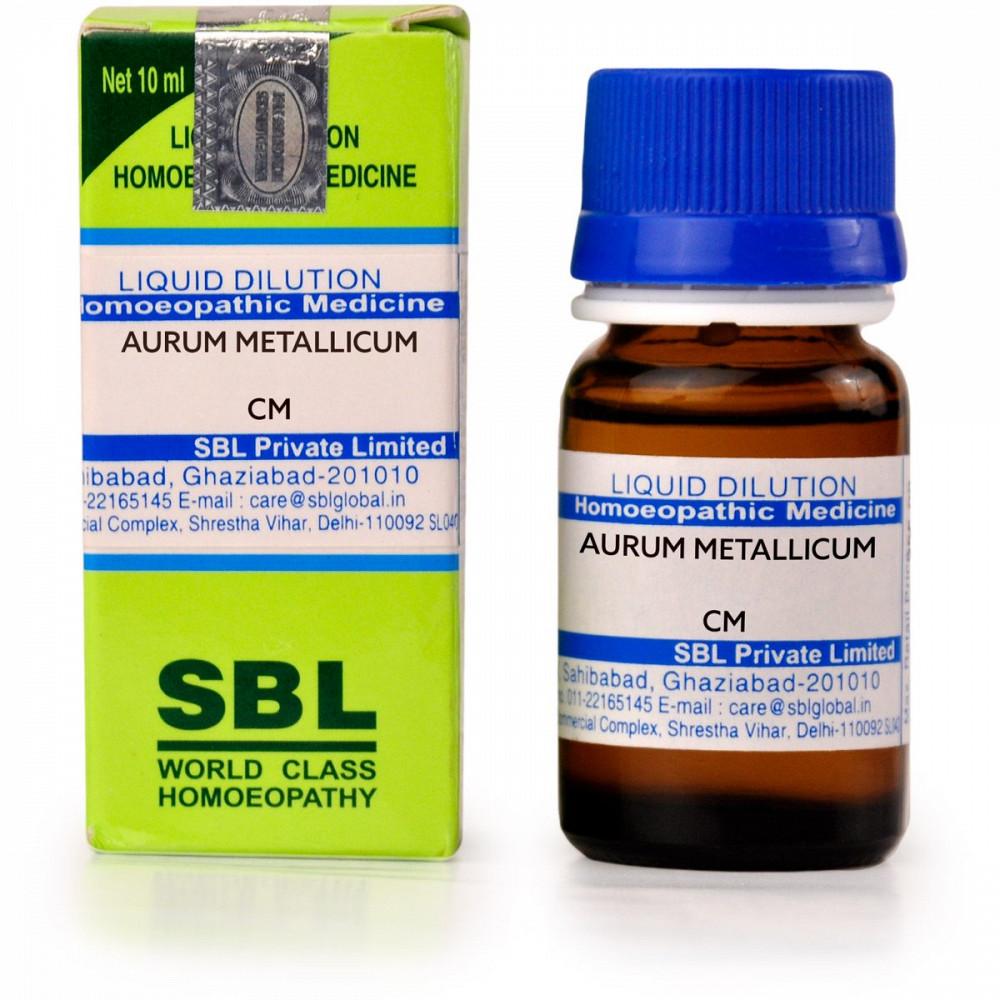 SBL Aurum Metallicum CM CH 10ml