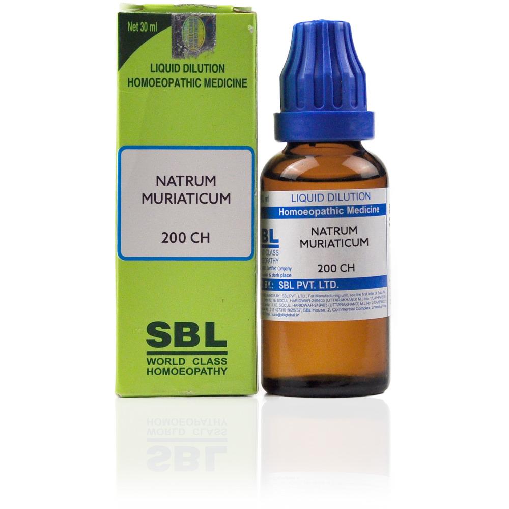 SBL Natrum Muriaticum 200 CH 30ml