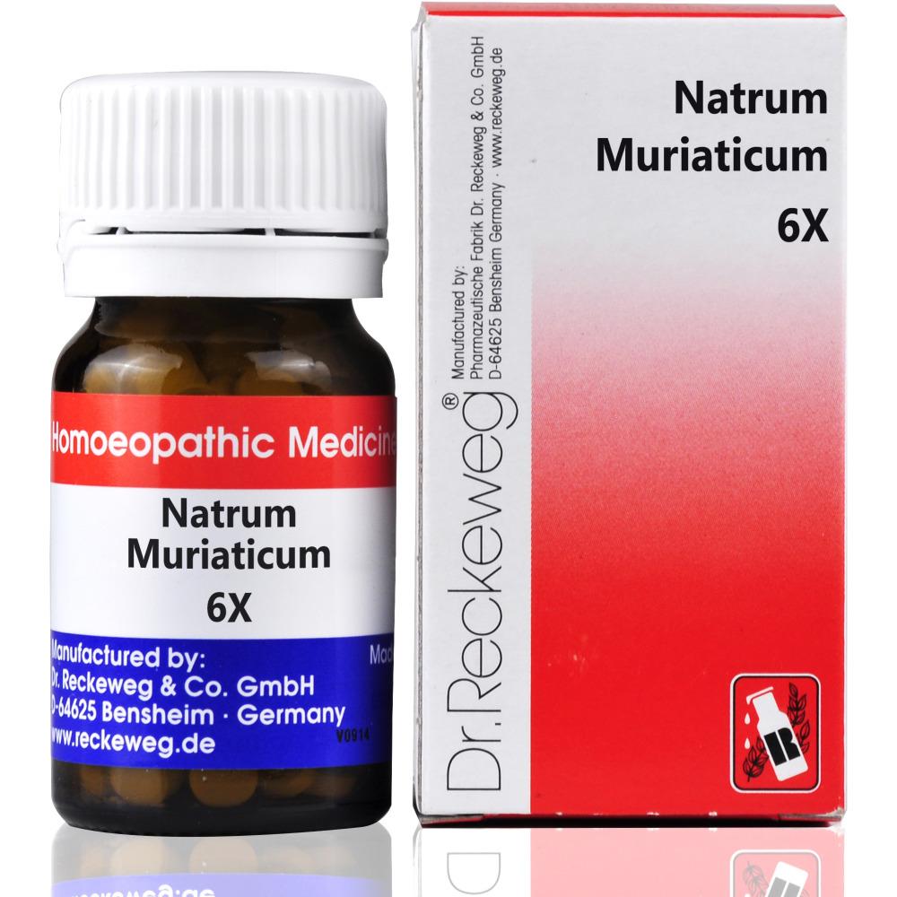 Dr. Reckeweg Natrum Muriaticum 6X 20g