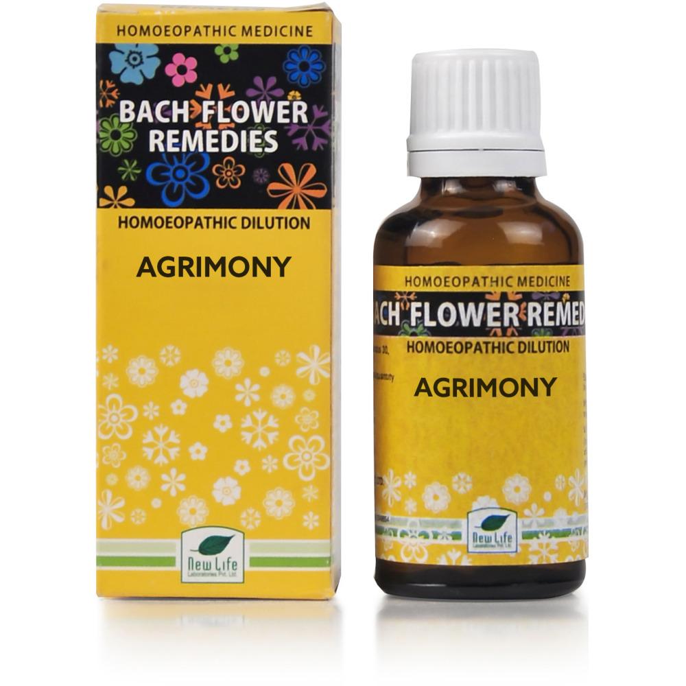 New Life Bach Flower Agrimony 30ml