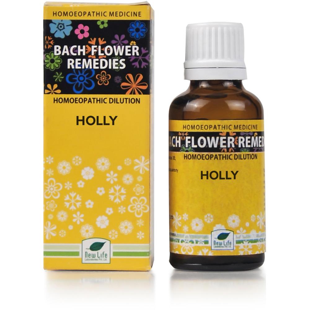 New Life Bach Flower Holly 30ml