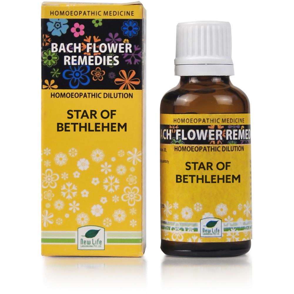 New Life Bach Flower Star Of Bethlehem 30ml