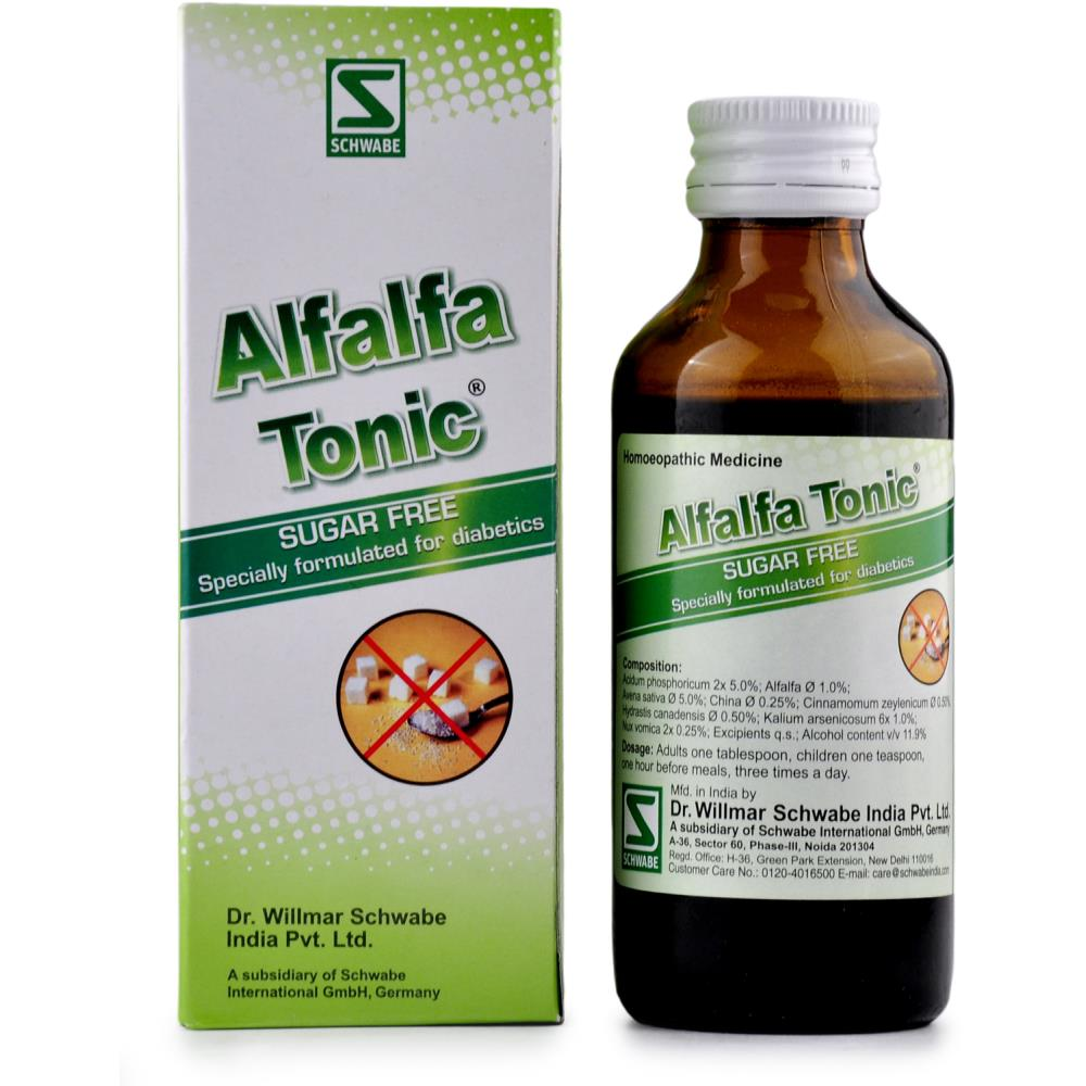 Willmar Schwabe India Alfalfa Tonic Sugar Free 100ml