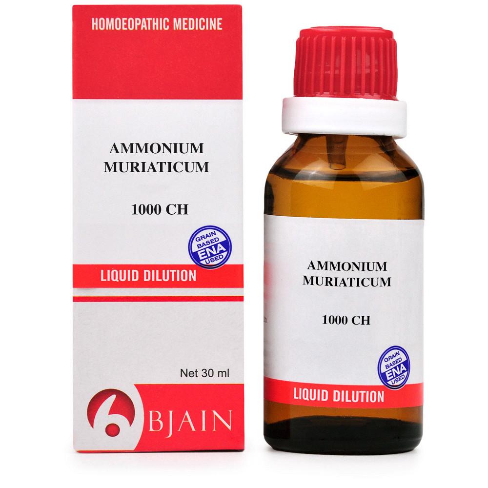 B Jain Ammonium Muriaticum 1M 1000 CH 30ml