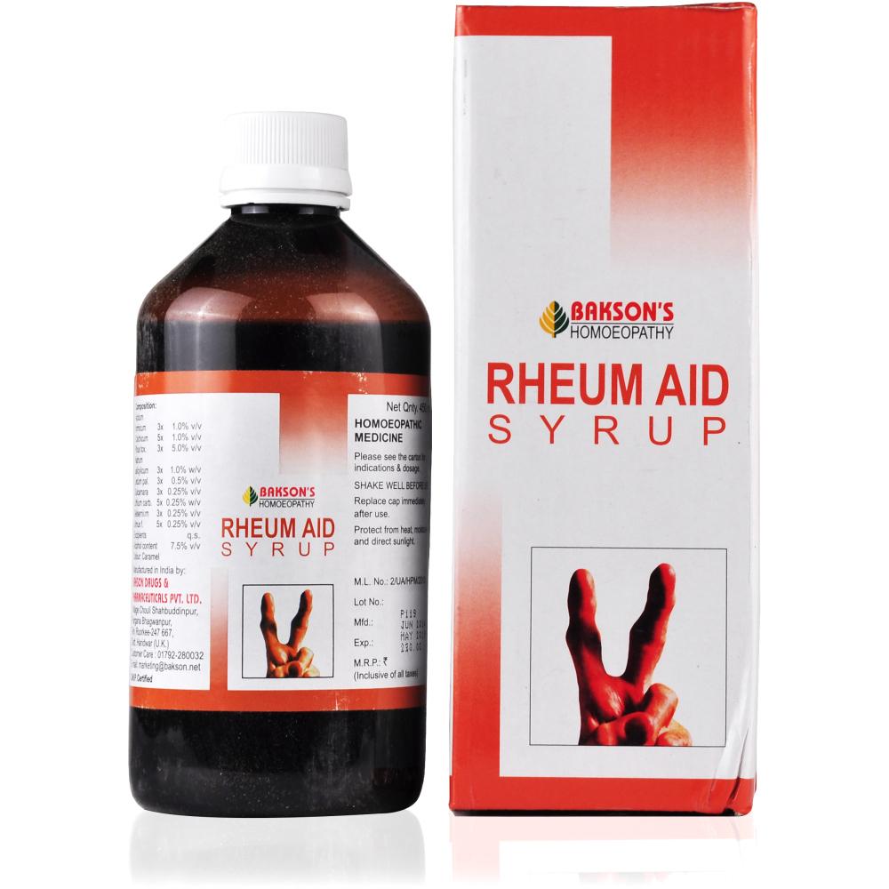 Bakson Rheum Aid Syrup 450ml
