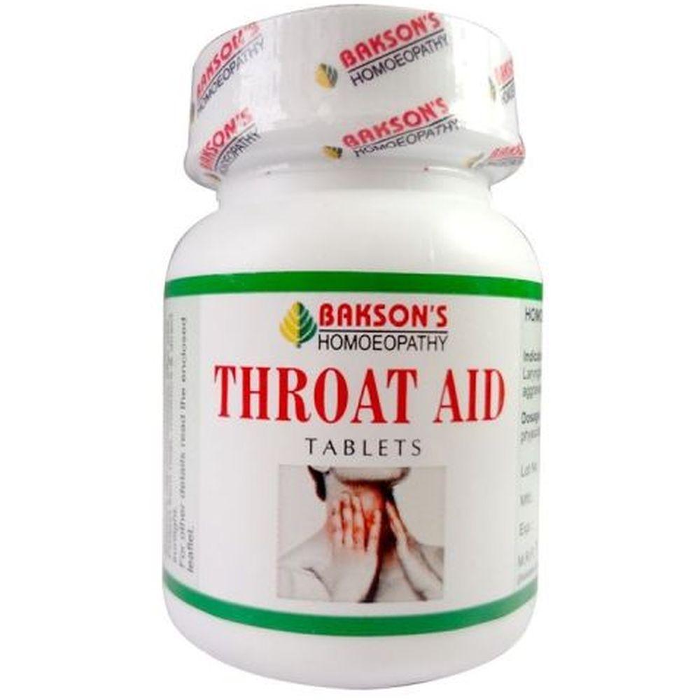 Bakson Throat Aid Tablets 75tab