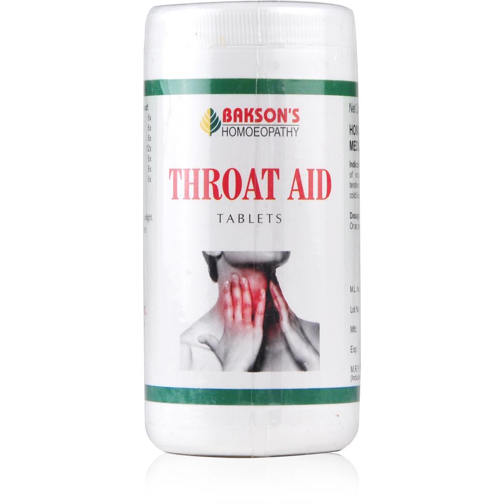 Bakson Throat Aid Tablets 200tab