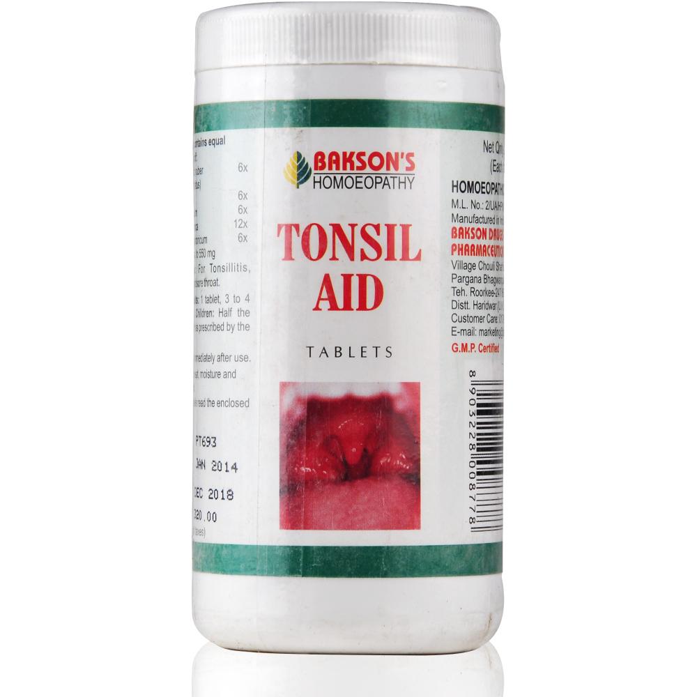 Bakson Tonsil Aid Tablets 200tab