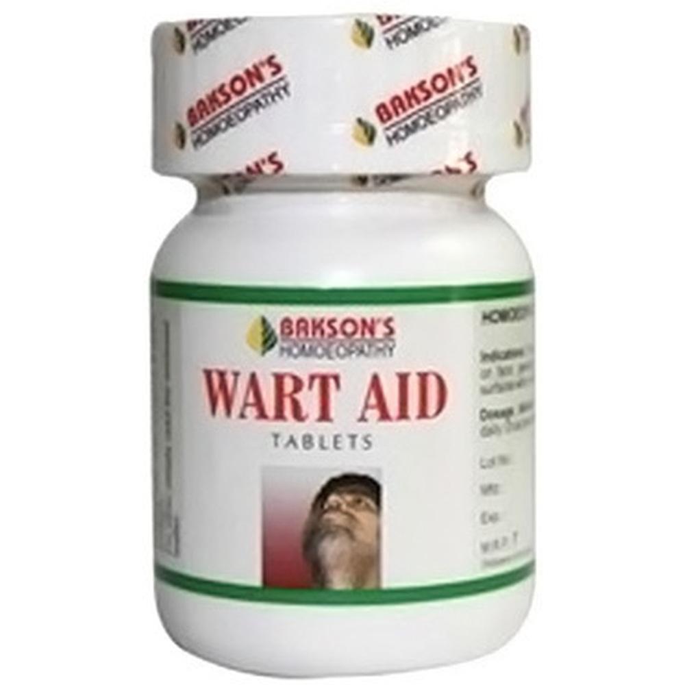 Bakson Wart Aid Tablets 75tab