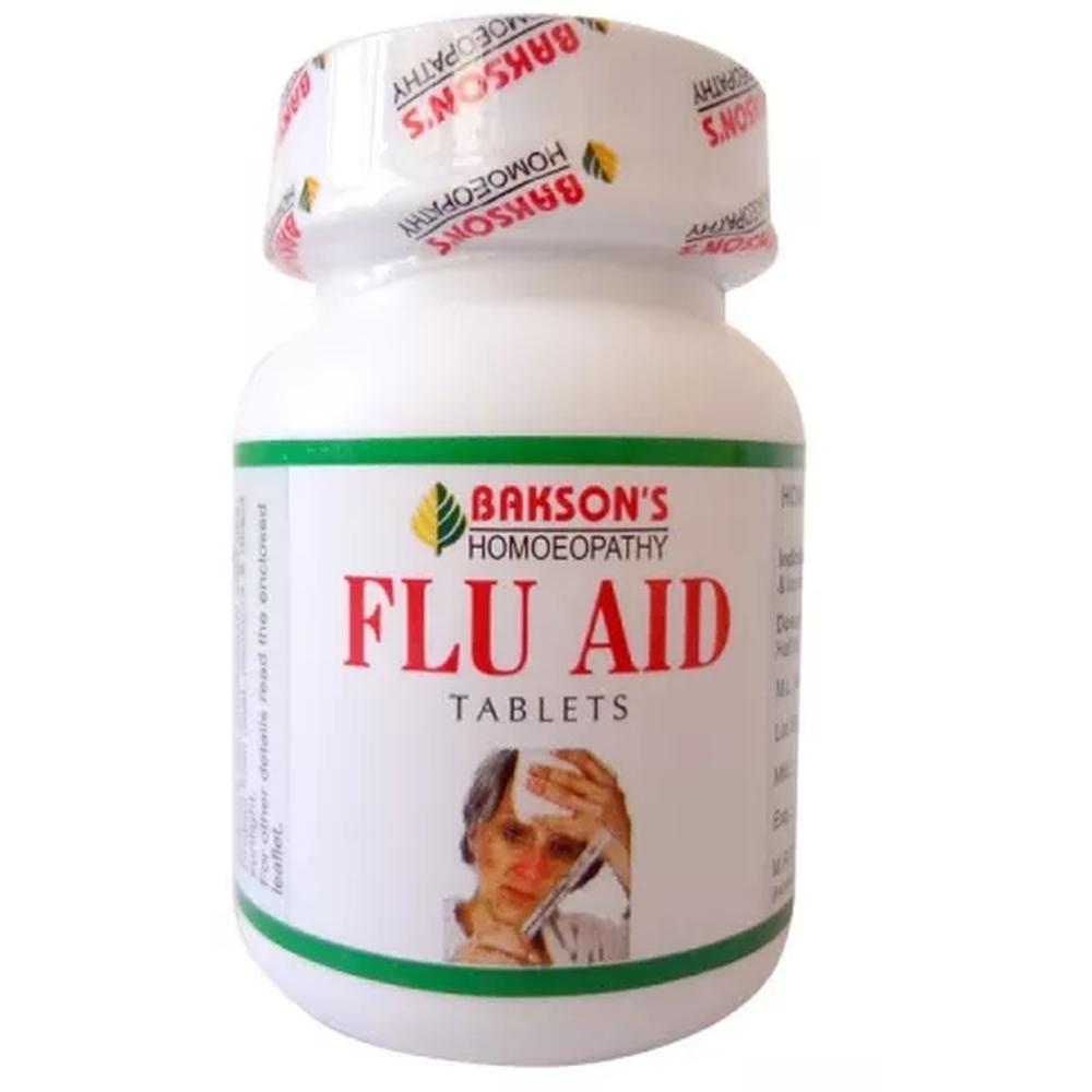 Bakson Flu Aid Tablets 75tab