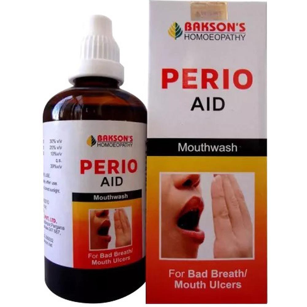 Bakson Perio Aid Mouth Wash 100ml