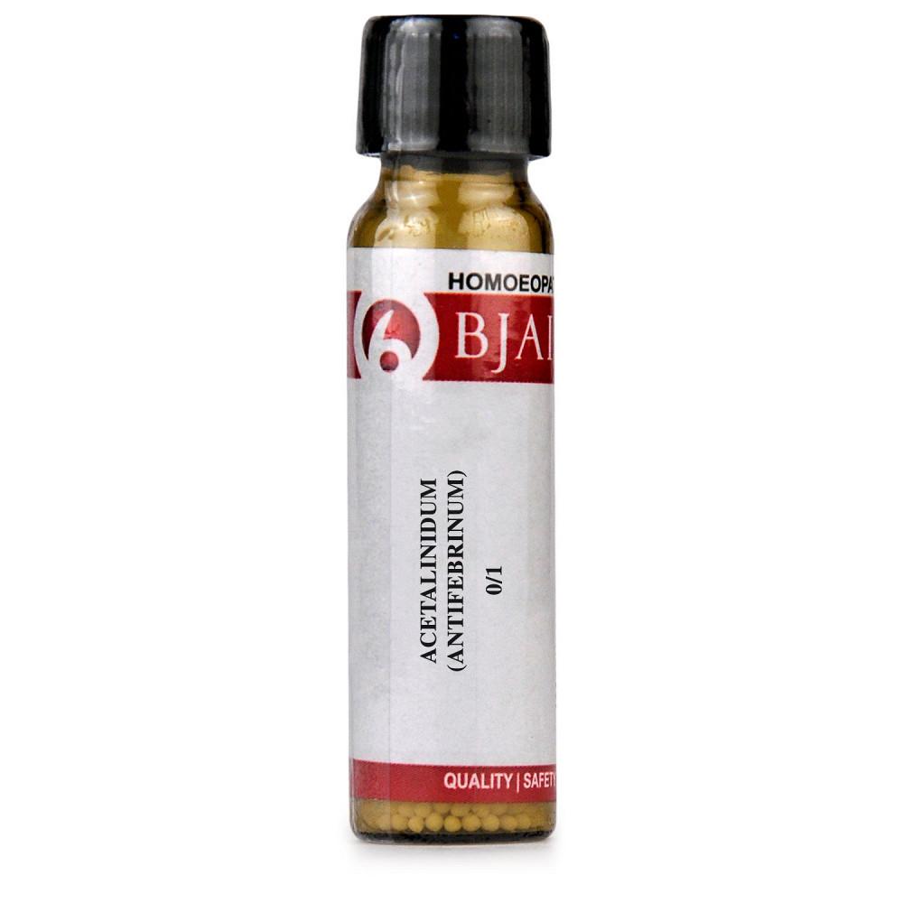 B Jain Acetalinidum Antifebrinum  LM 0/1 6g