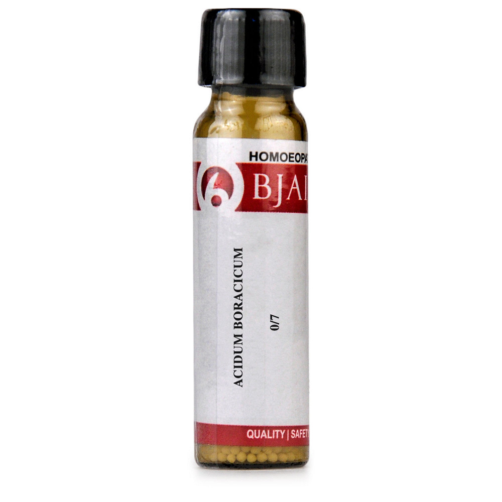 B Jain Acidum Boracicum LM 0/7 6g