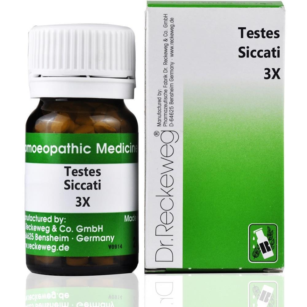 Dr. Reckeweg Testes Siccati 3X 20g