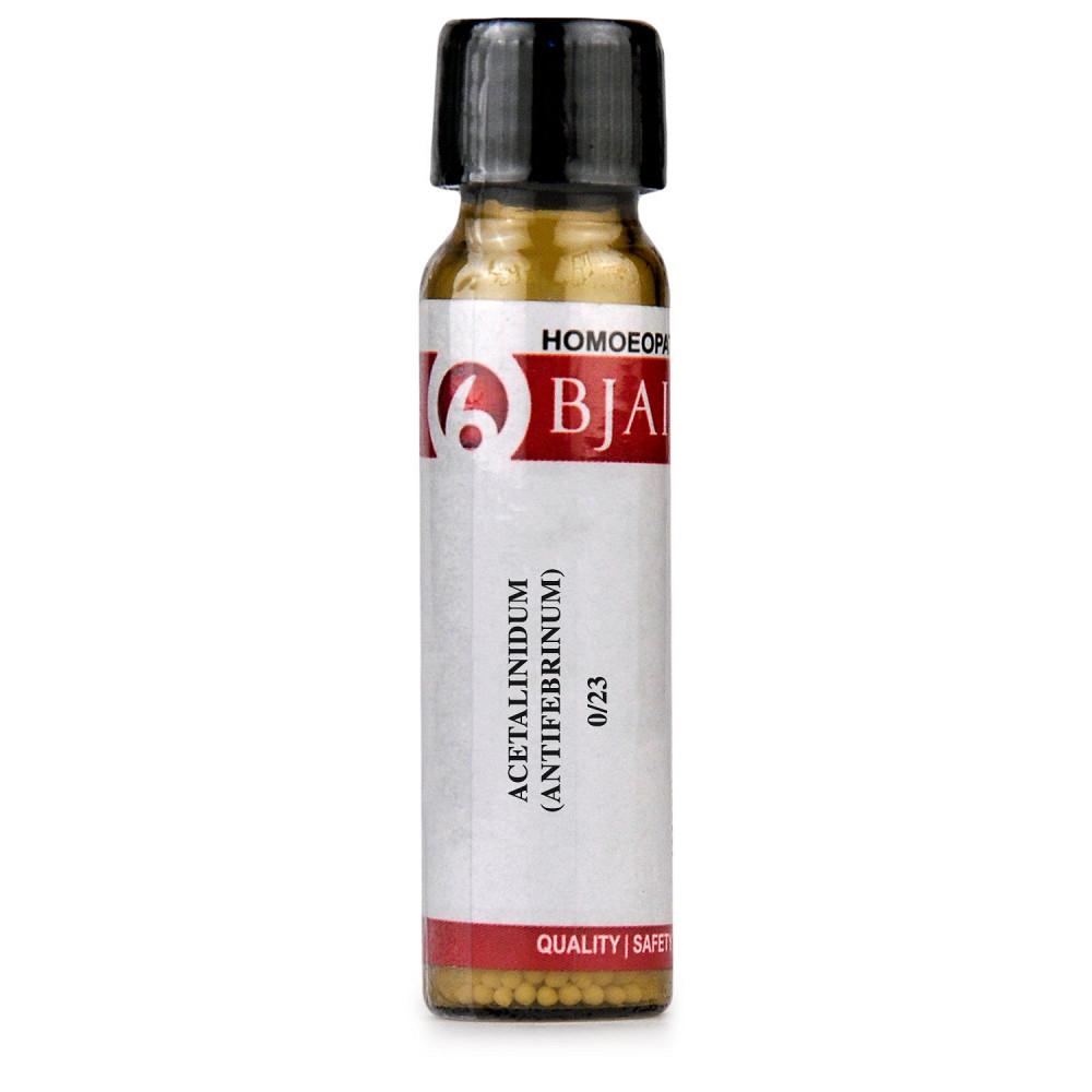 B Jain Acetalinidum Antifebrinum  LM 0/23 6g