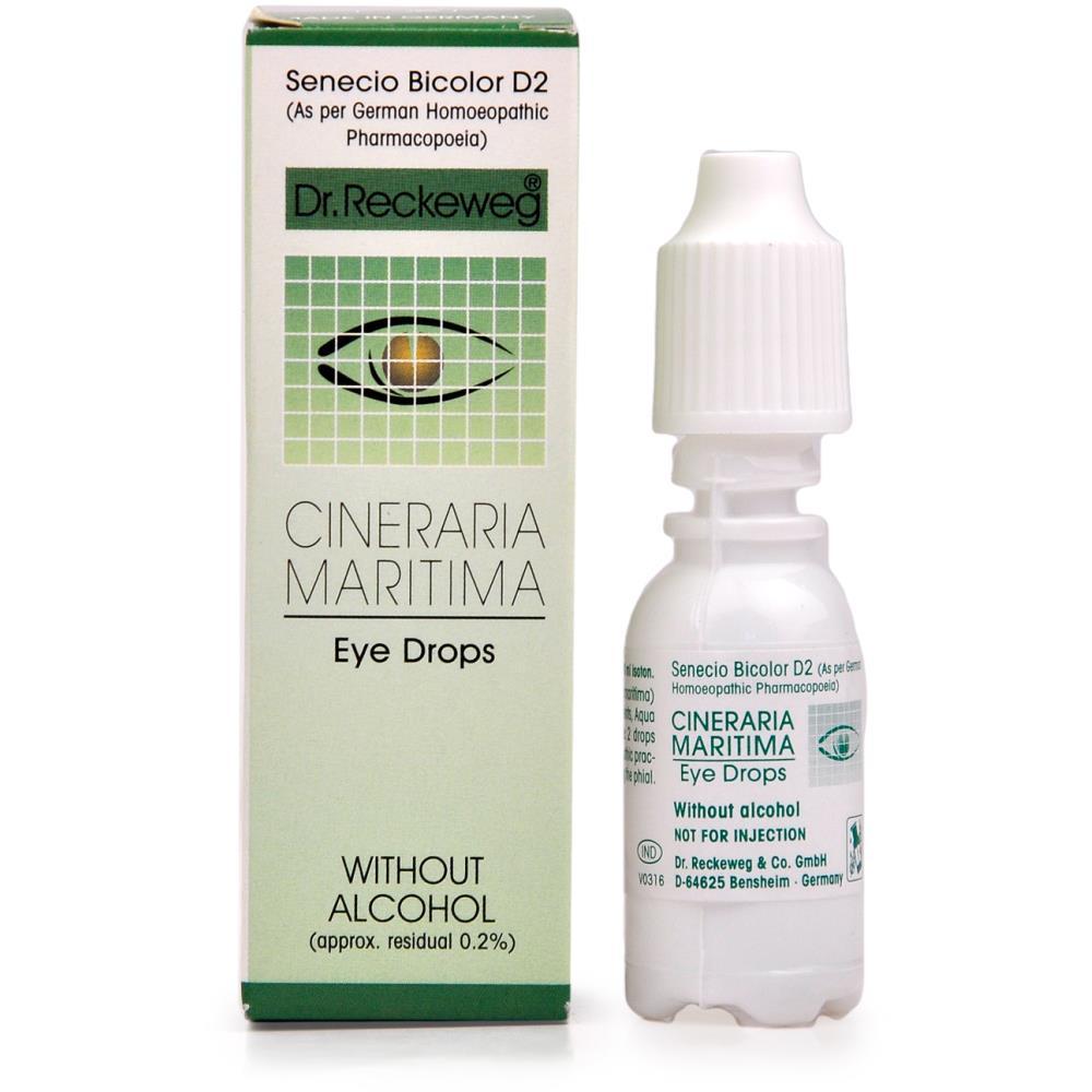 Dr. Reckeweg Cineraria Eye Drops 10ml