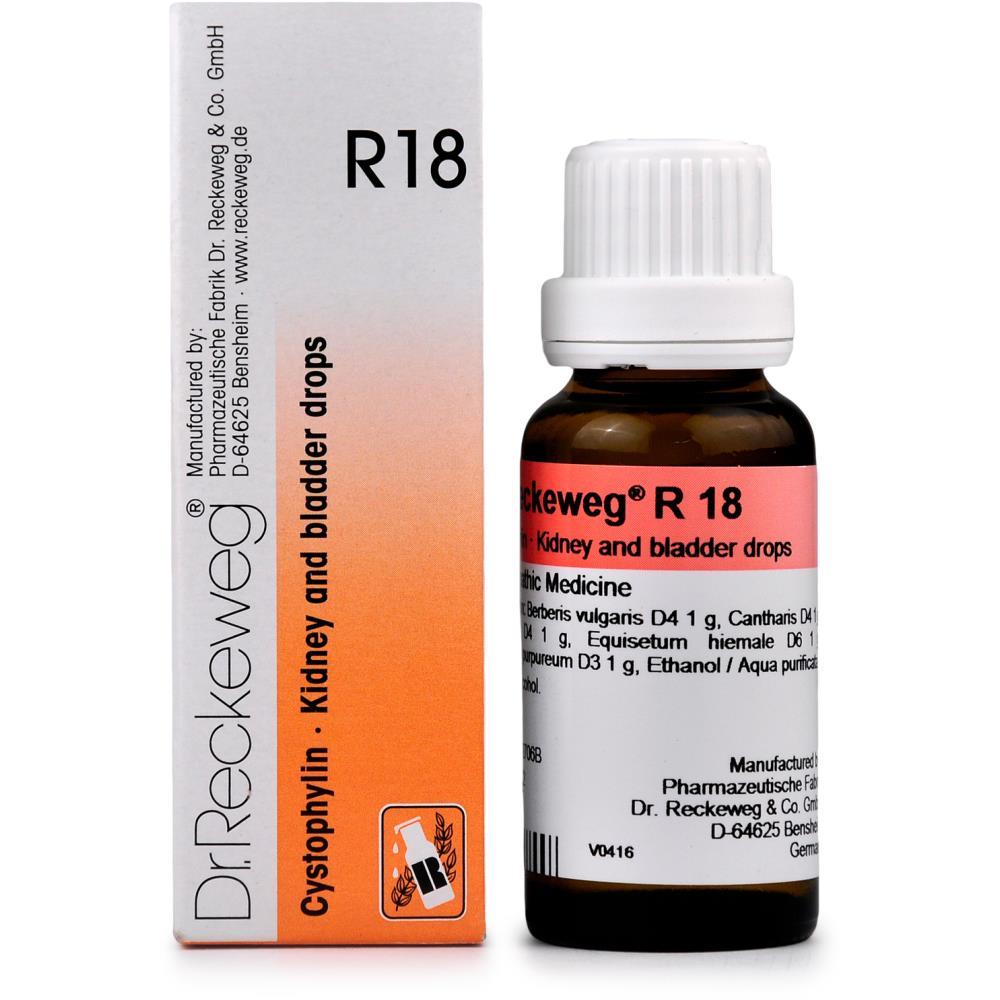 Dr. Reckeweg R18 Cystophylin 22ml