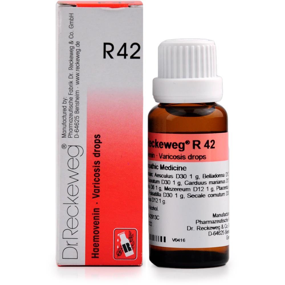 Dr. Reckeweg R42 Haemovenin 22ml