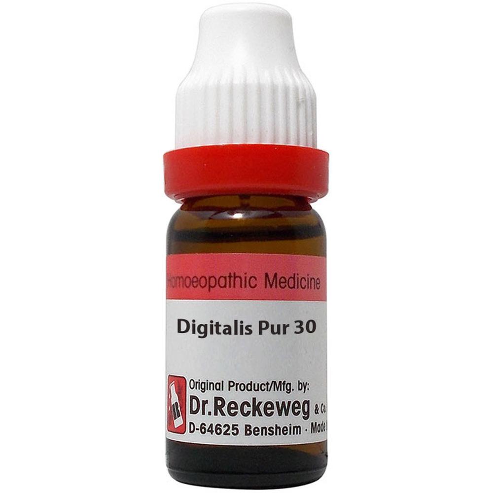 Dr. Reckeweg Digitalis Purpurea 30 CH 11ml