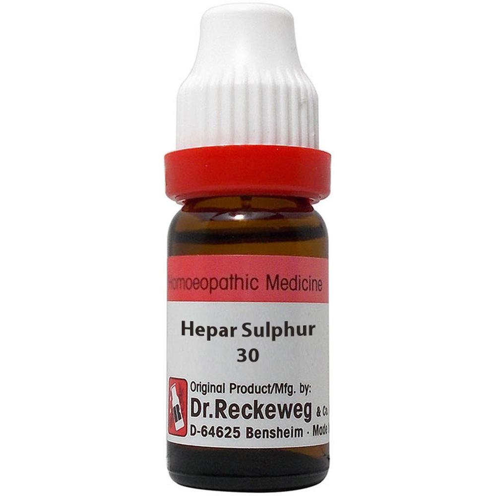 Dr. Reckeweg Hepar Sulphur 30 CH 11ml