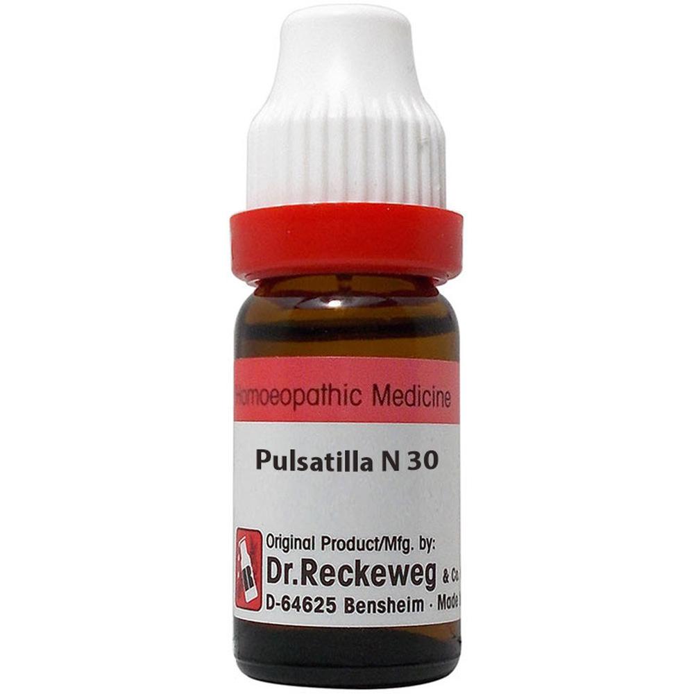 Dr. Reckeweg Pulsatilla Nigricans 30 CH 11ml