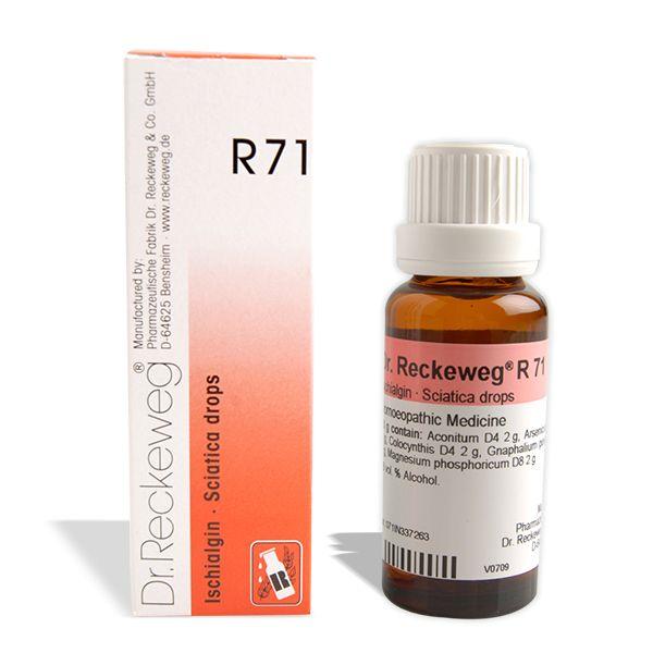 Dr. Reckeweg R71 Ischialgin 22ml