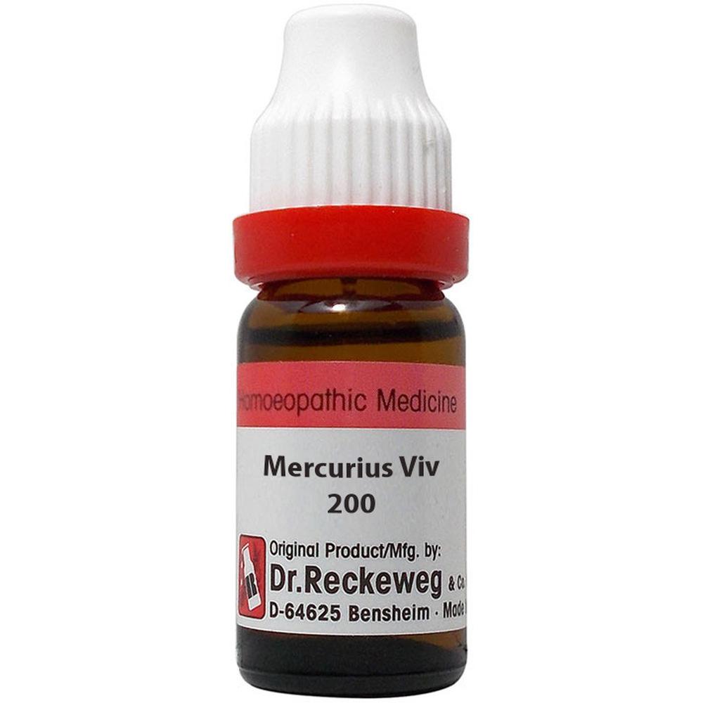 Dr. Reckeweg Mercurius Vivus 200 CH 11ml