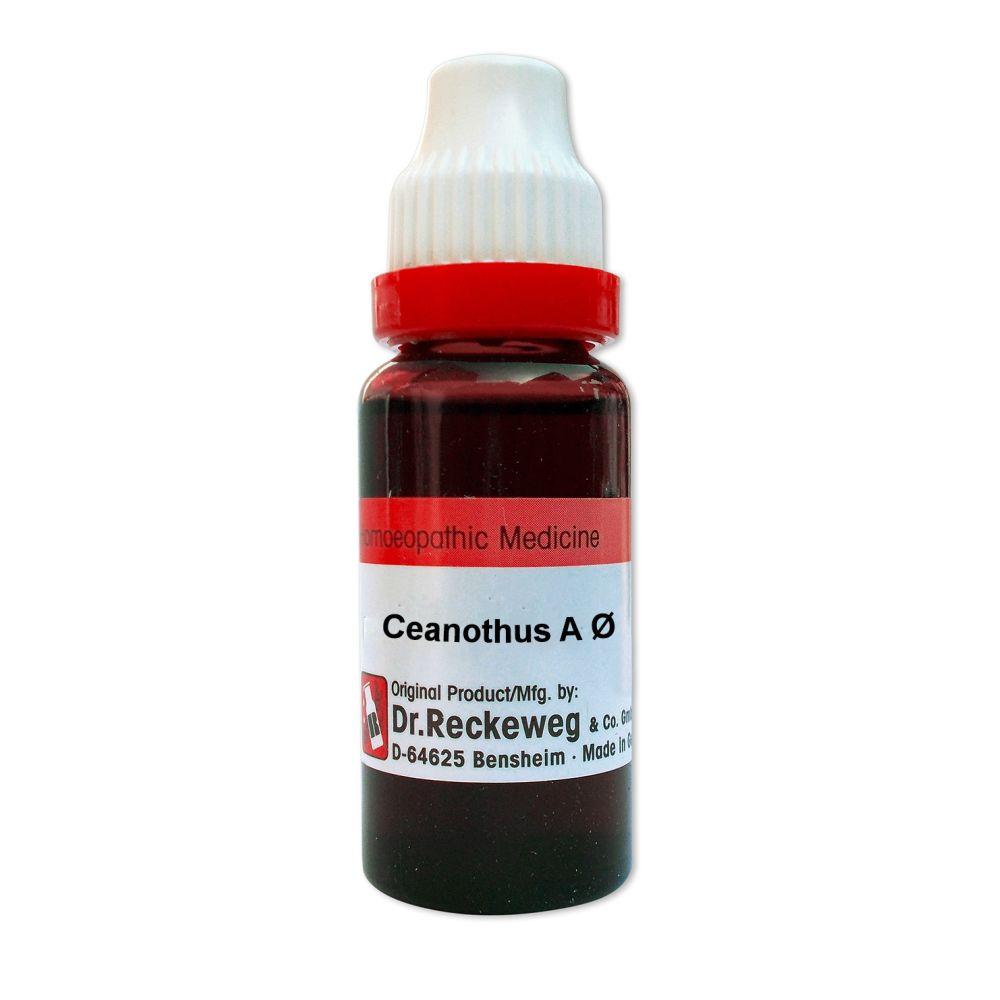 Dr. Reckeweg Ceanothus Americanus 1X Q 20ml
