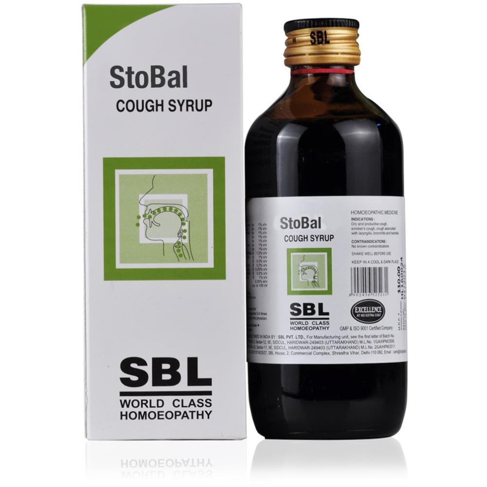 SBL Stobal Syrup 180ml