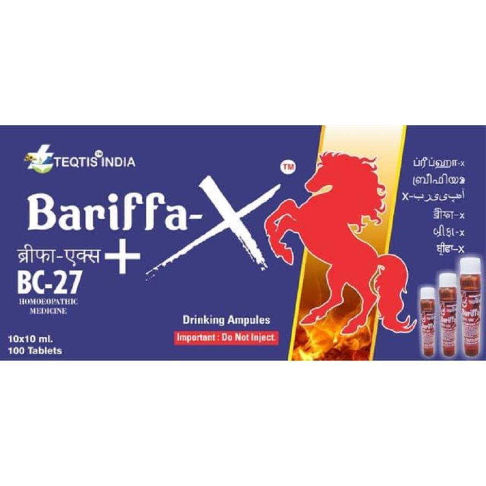 Teqtis India Bariffa-X+BC-27 1Pack