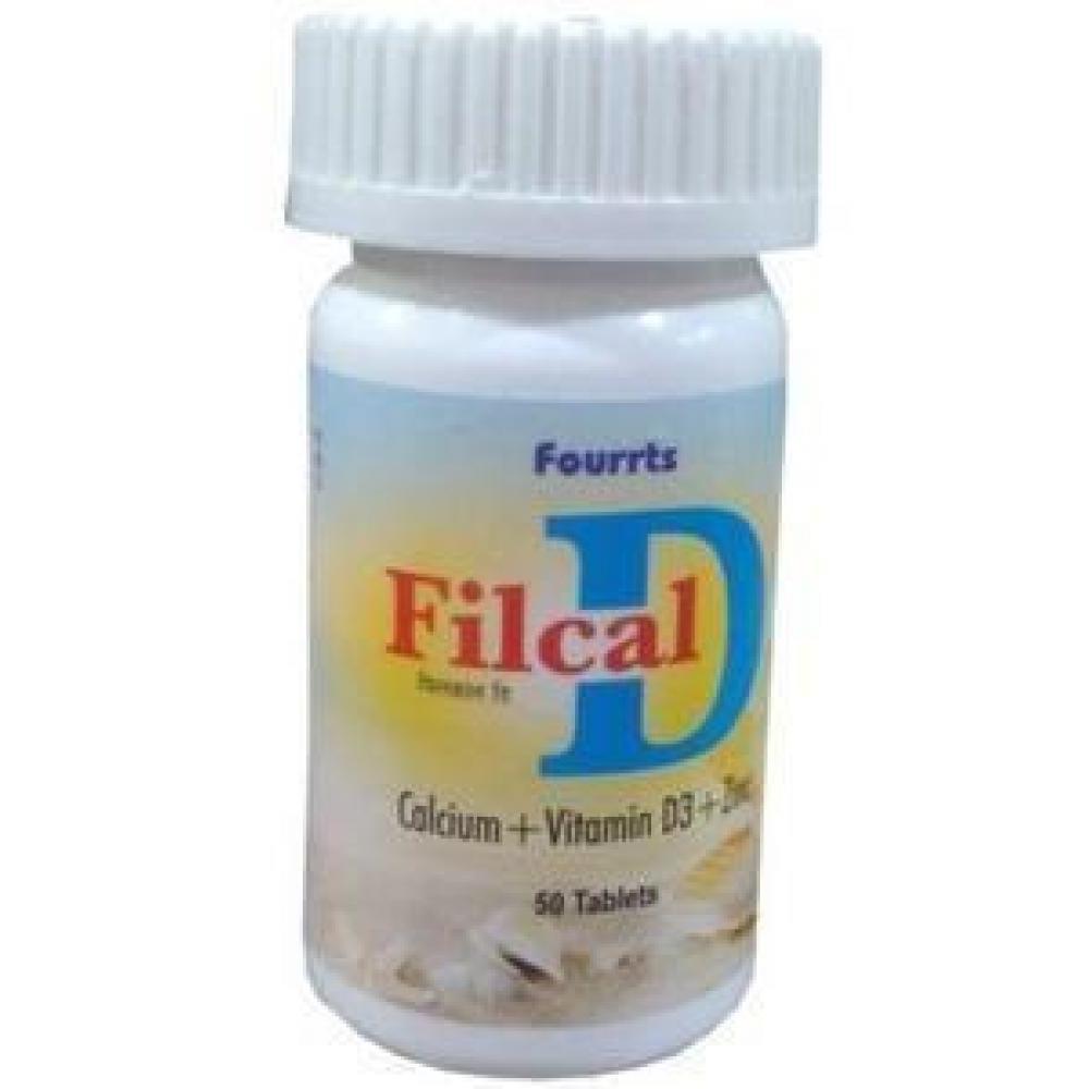 Fourrts  Filcal D 50 Tabs 50tab