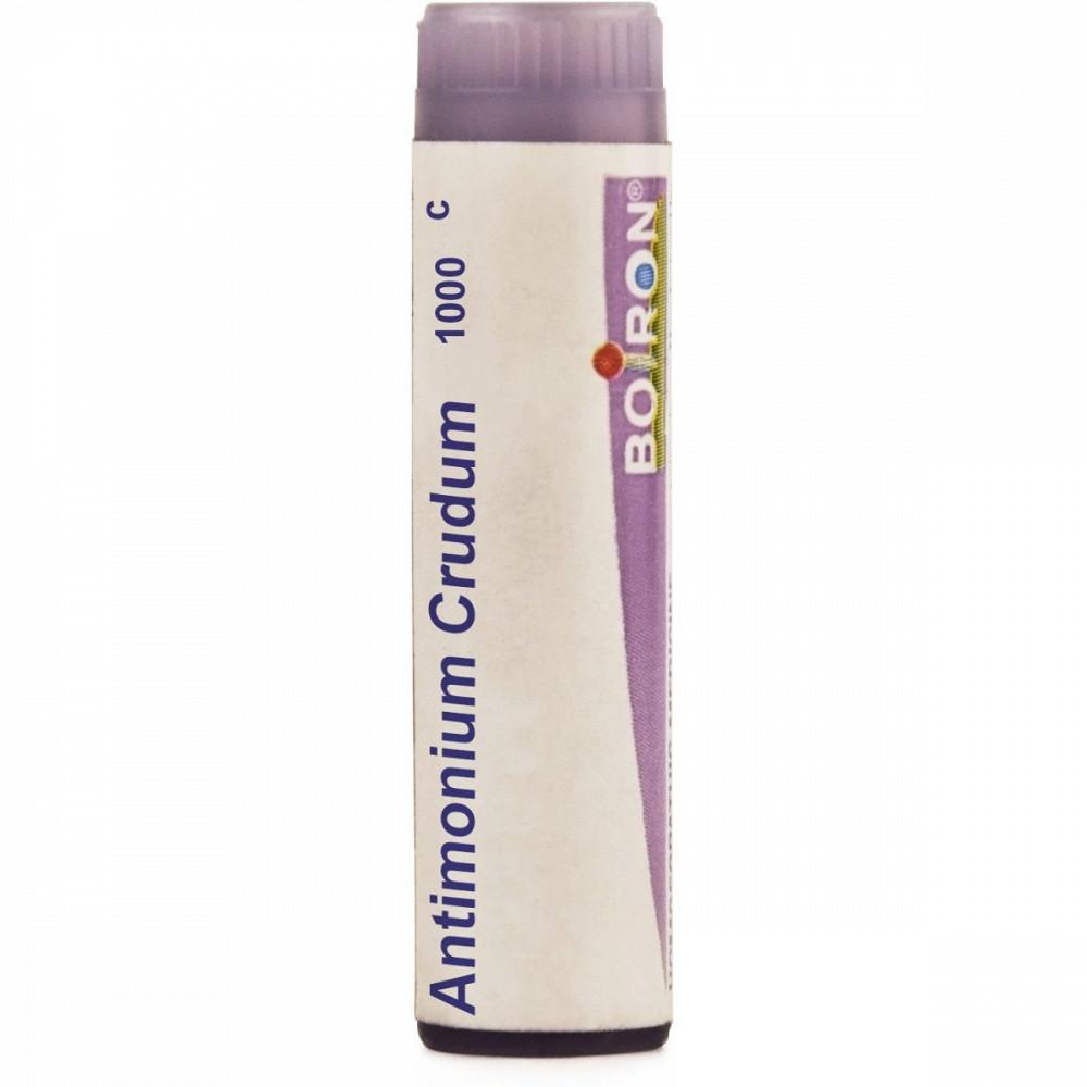 Boiron Antimonium Crudum Multi Dose Pellets 1M 1000 CH 4g