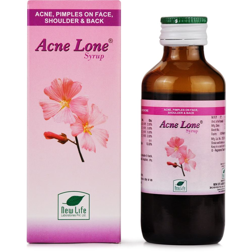 New Life Acnelone Syrup 100ml