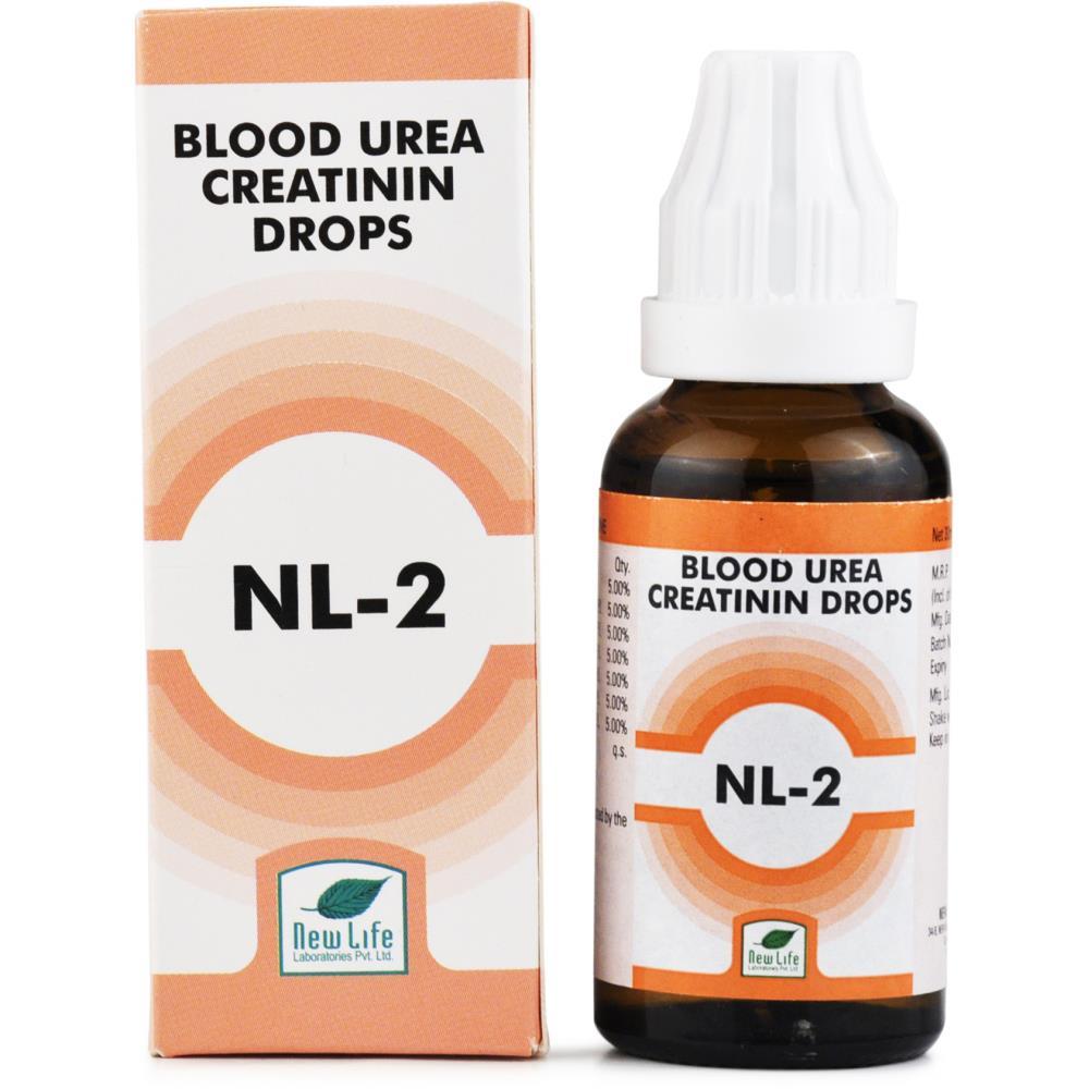 New Life NL-2 Blood Urea And Creatinin Drops 30ml
