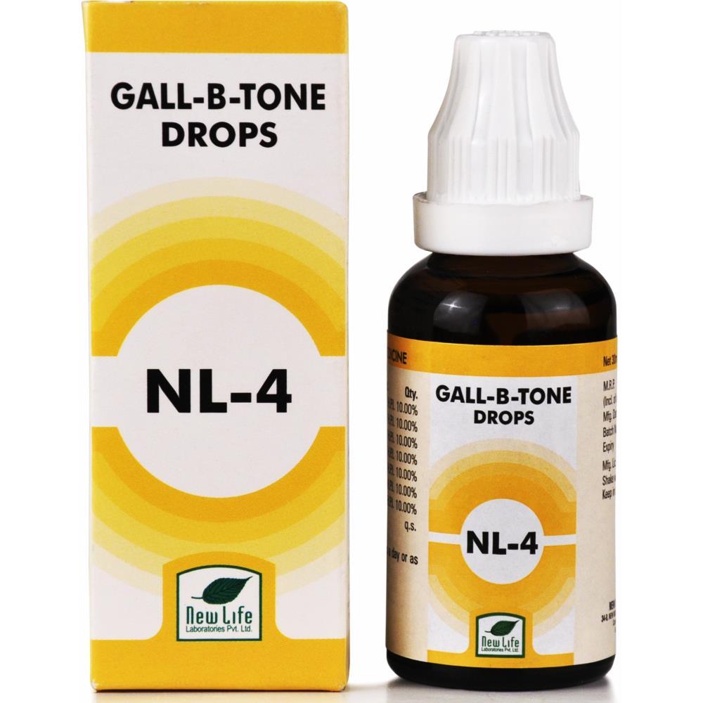 New Life NL-4 Gall B Tone Drops 30ml