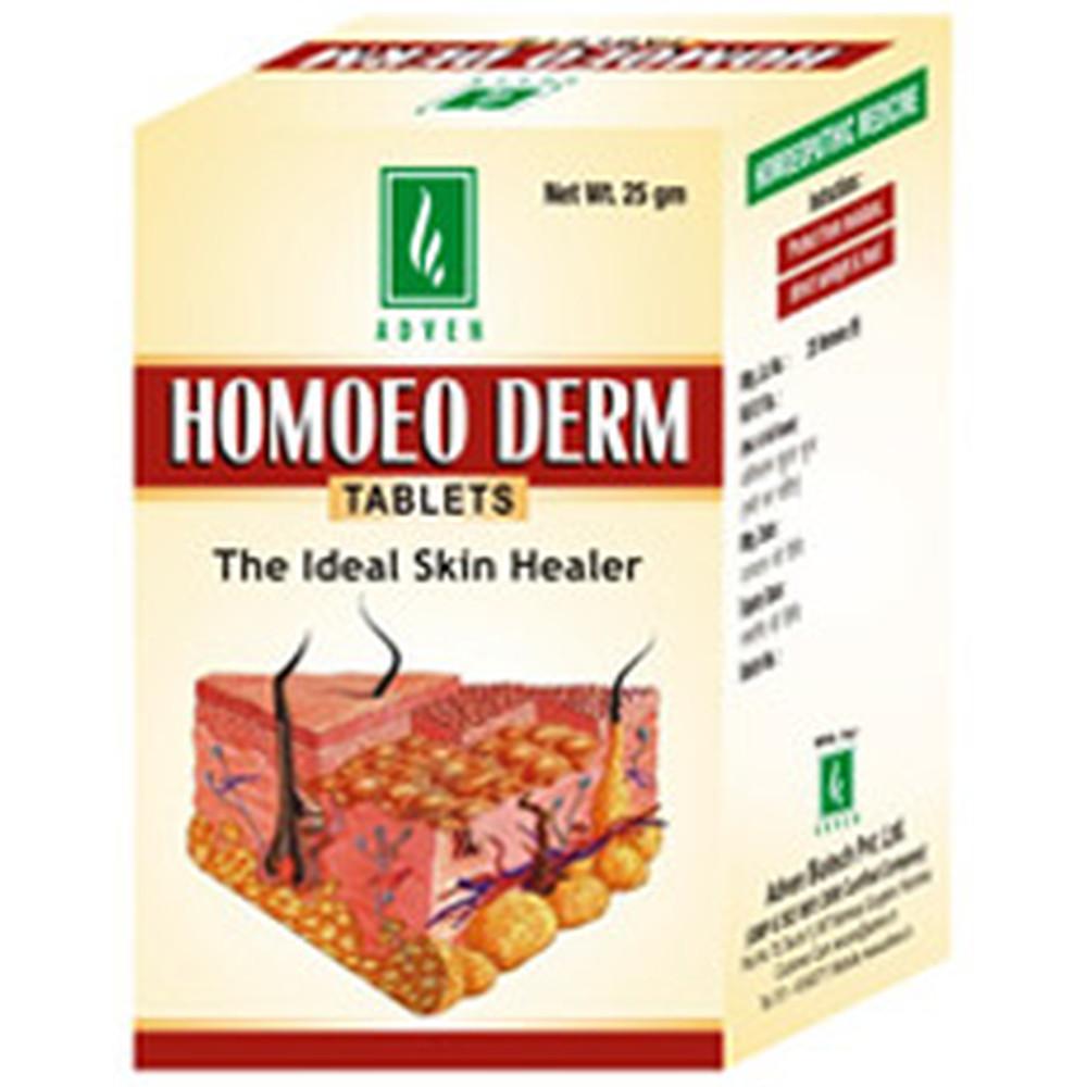 Adven Homoeo Derm Tablet 25g