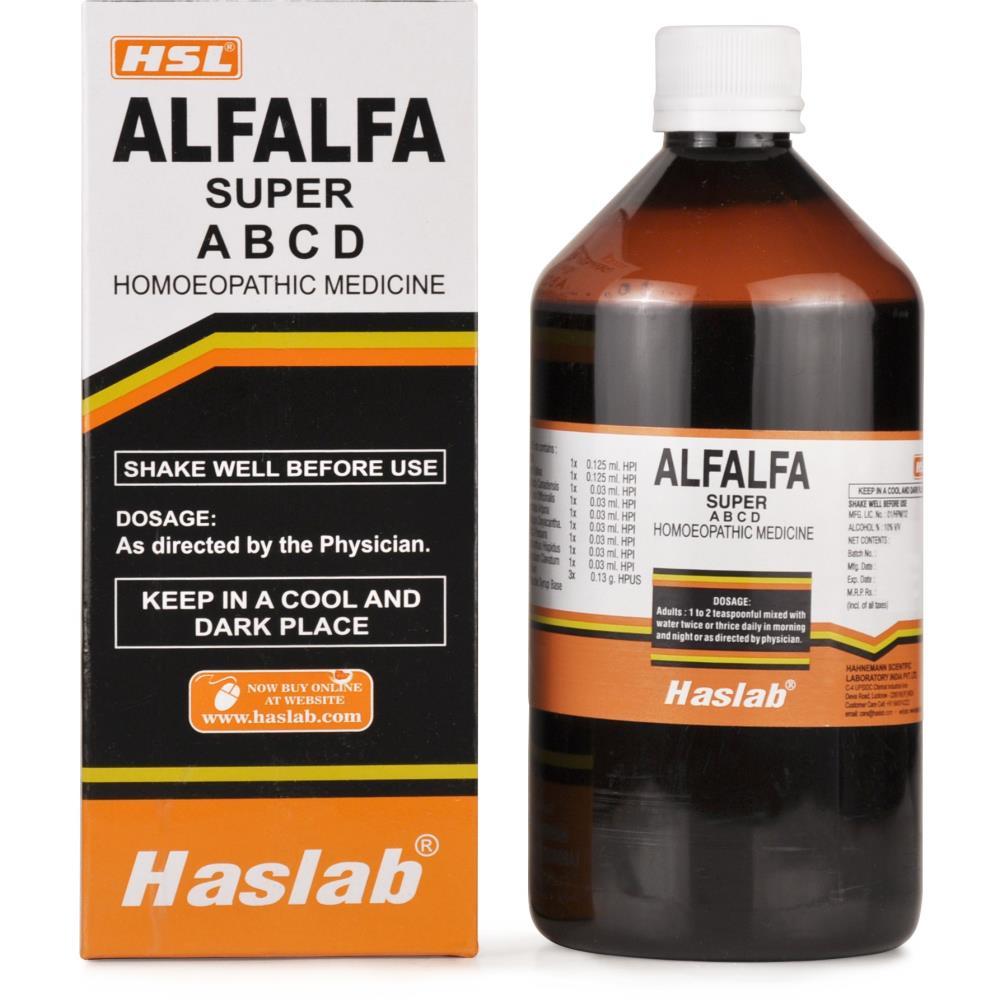 Haslab Alfalfa Super Tonic with Vitamin A B C D 450ml