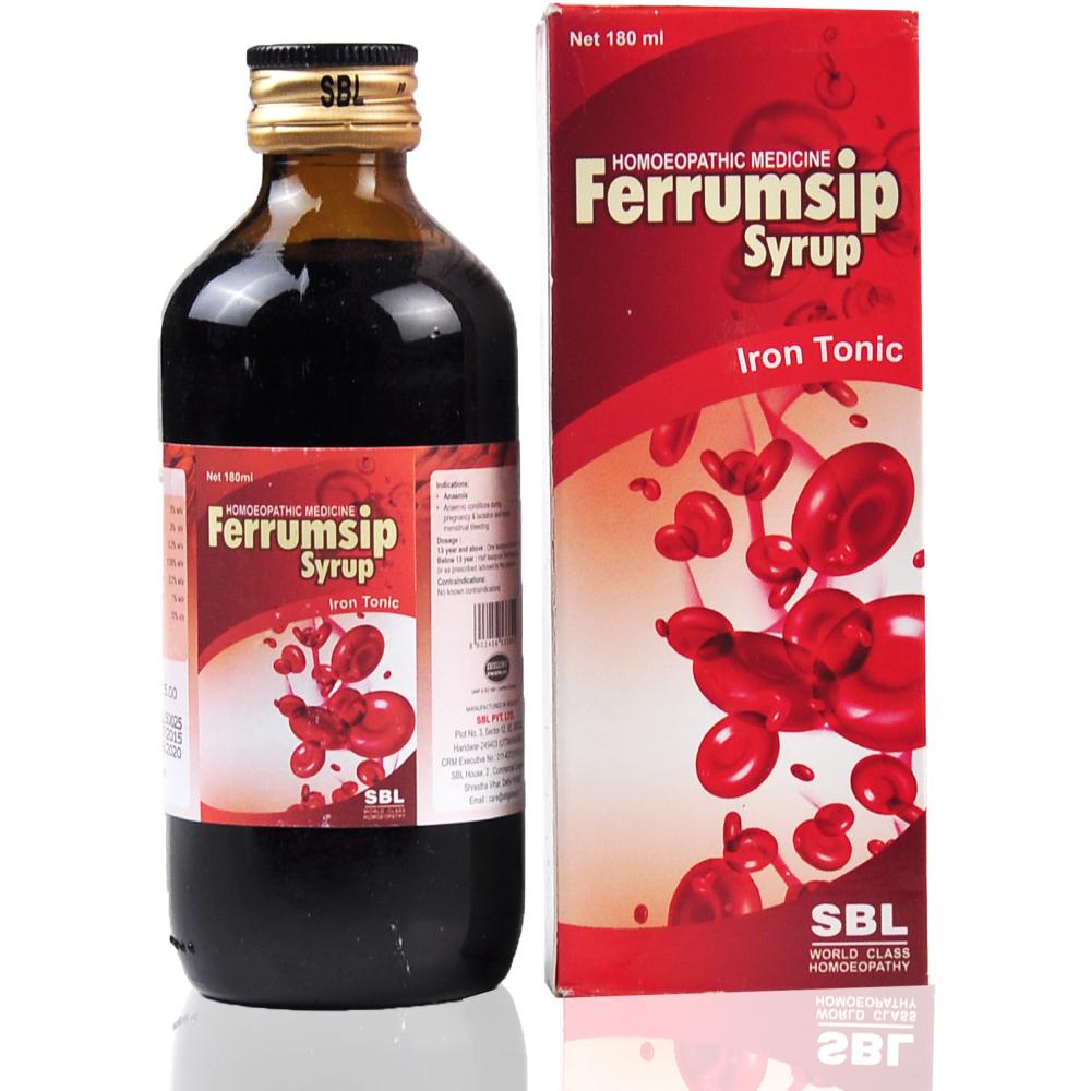SBL Ferrumsip Syrup 180ml