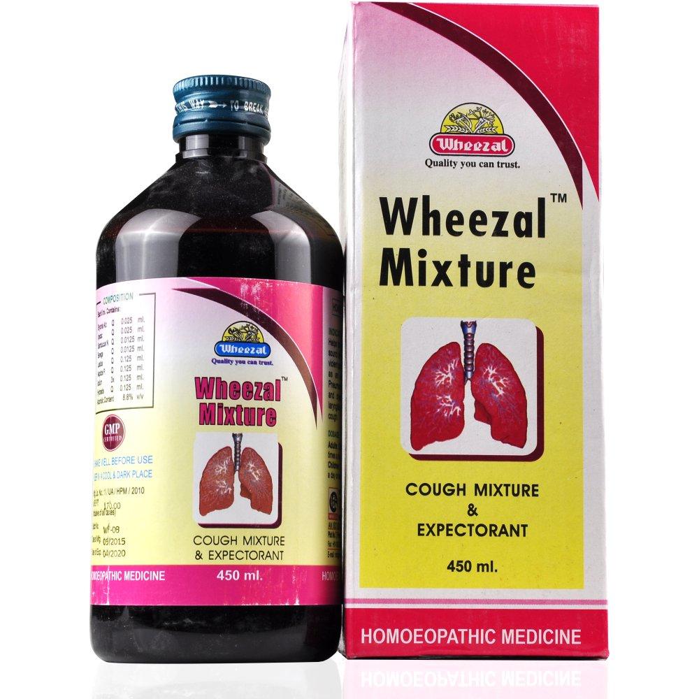 Wheezal Cough Mixture 450ml