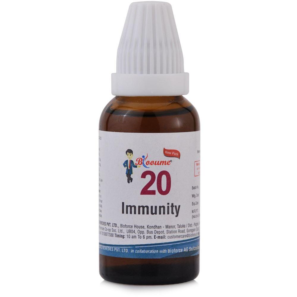 Bioforce Blooume 20 Immunity Drops 30ml