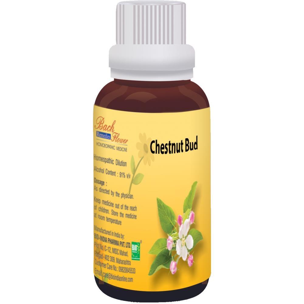 Bio India Bach Flower Chestnut Bud 100ml