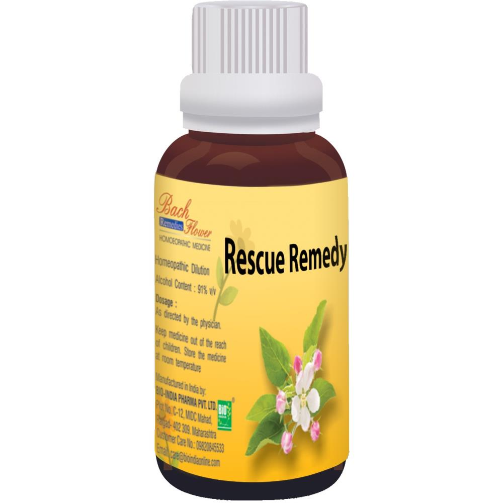 Bio India Bach Flower Rescue Remedy 100ml